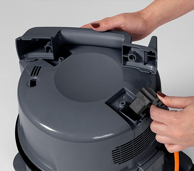 HITACHI CV-400P PRO Grau The next Generation mit Filtertüte